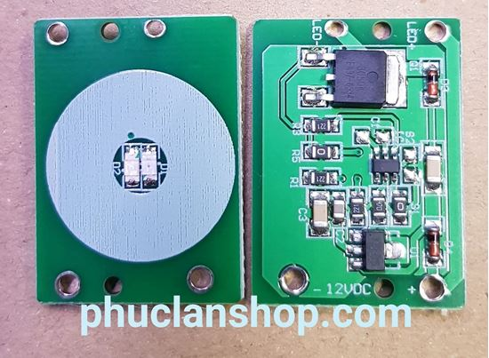 Picture of Cảm Biến 1 Chạm Điện Dung Capacitive Touch Button 12VDC