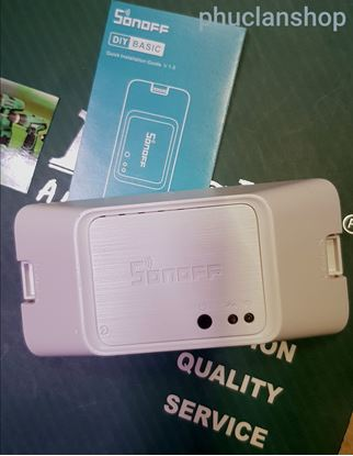 Picture of Công tắc điều khiển từ xa qua wifi Sonoff Basic R3