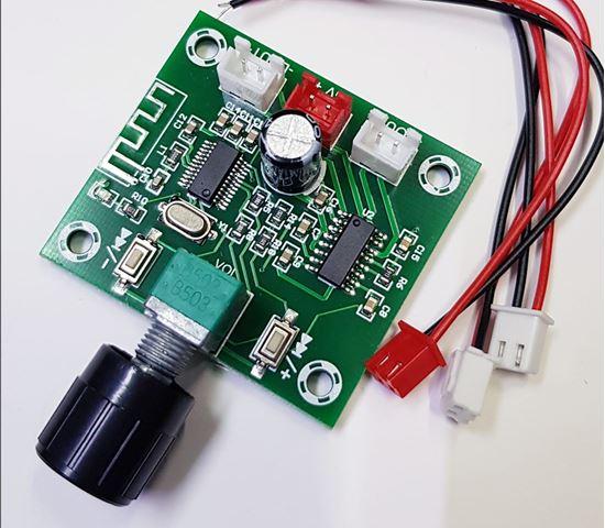 Picture of Mạch khuếch đại âm thanh bluetooth 5.0 công suất loa 5W×2 XH-A158