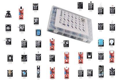 Picture of Bộ 37 cảm biến thực hành với Arduino (37 in 1 sensors kit for arduino)